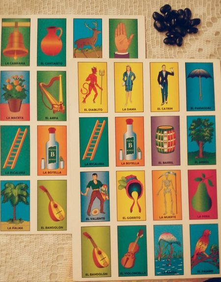 Mexican games Mexico Games Beans Loteria