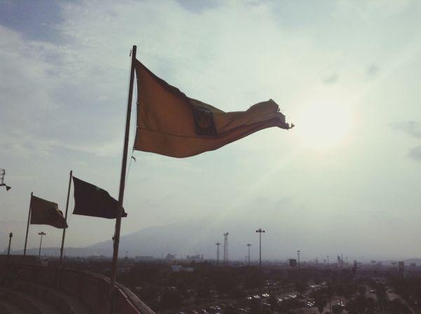 We are the champions OpenEdit Popular Photos Today :) Copalibertadores Tigres Internacional Sunset Flag Love
