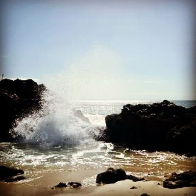 Missing Port Elizabeth. ♥ Portelizabeth Southafrica Happytimes Beach Ocean Sea Clouds Memorablemoments April 2014 Thingsilove Thingsimiss ♥♥♥ Waves Rocks Beauty Beachsand