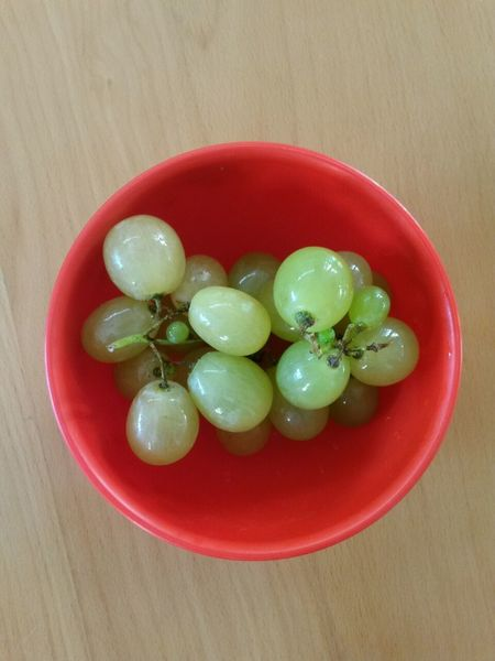 Grapes🍇 Green Color Red Color Healthy Eating Food And Drink No People Indoors  High Angle View Food Freshness Day