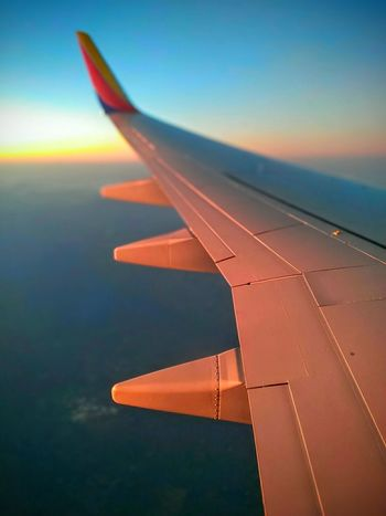 Southwest Airlines Sunset