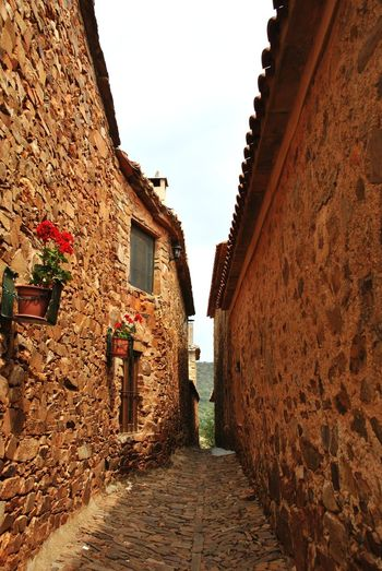 Village Ancient Medieval Orange Color Eyemphotography Eyem Gallery SPAIN History Sky Architecture Building Exterior Built Structure