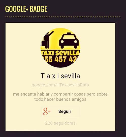 Tambien en google + Taxi Rrss