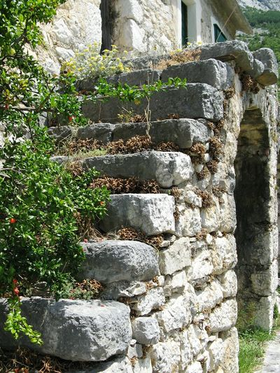 Stone Steps Stone Wall Stonework Stone Stairs Old Stone Steps Old Stone Houses Traditional House Mountain Village Archway Stone Buildings Stone Cottage Mountain Countryside Croatia