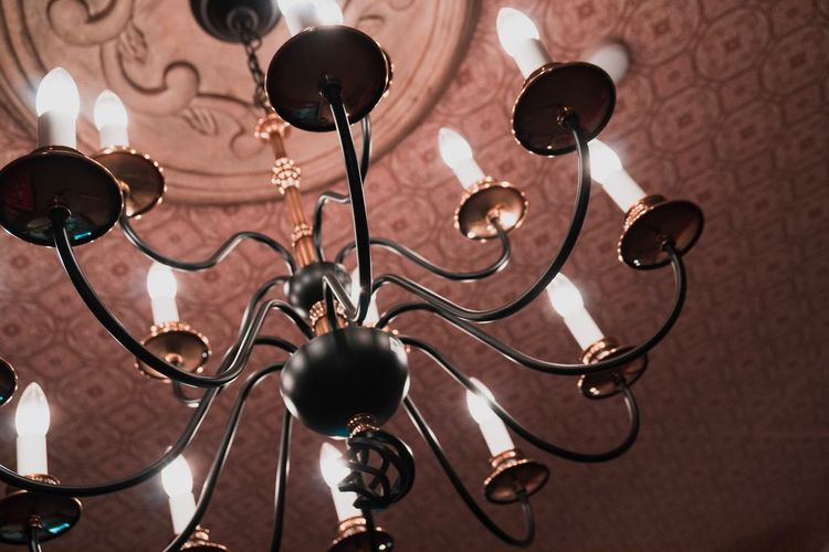 EyeEm Selects Indoors  No People Day Close-up Antique Japan Chandelier
