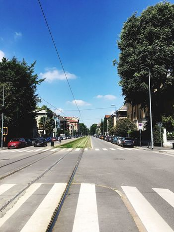 Transportation Tree Road Car Street Outdoors Day Sky The Way Forward Sunlight Clear Sky No People