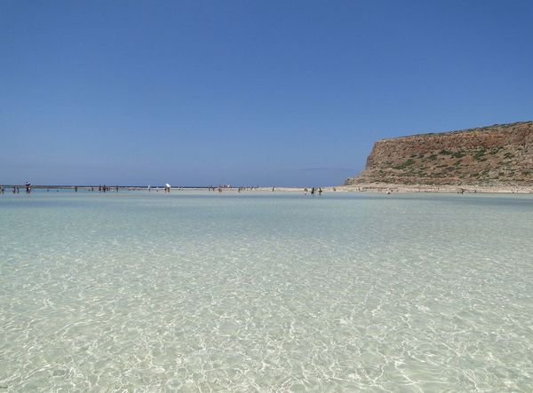 Katarzyna Dziemidowicz Balos Lagoon Crete Greece Travel White Sands Beach Beauty In Nature Blue Clear Sky Copy Space Day Island Lagoon Landscape Nature Outdoors People Photo Scenics Sea Sea And Sky Sky Summer Tranquil Scene Tranquility Water