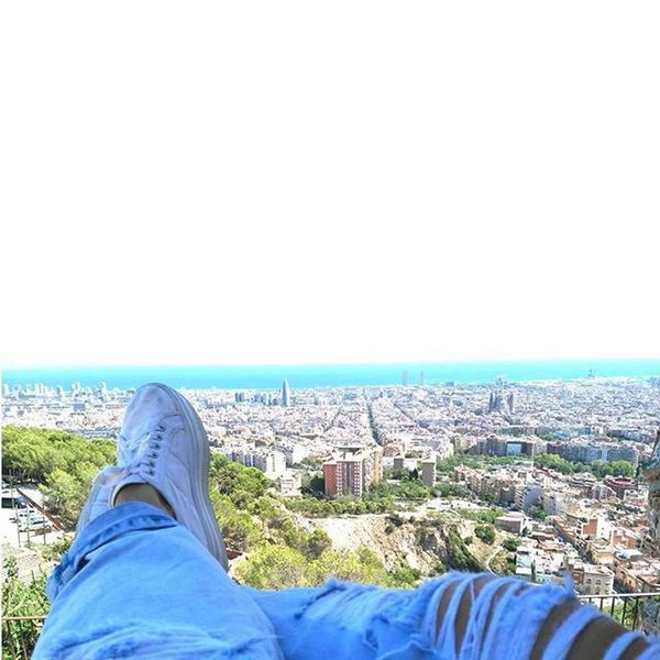 Alone and alive Barcelona Alone Love Lovely View Views Bunkers  Elcarmel Turista Kitkat Afterwork City Citylife Alive  Instapic Instagood Instadaily Awesome Feel Feelinggood Good Nice Cute Really Live picoftheday tagsforlike elmundoamispies