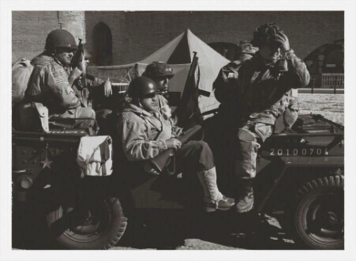 Recreación Segunda Guerra Mundial 2GM Blackandwhite Monochrome