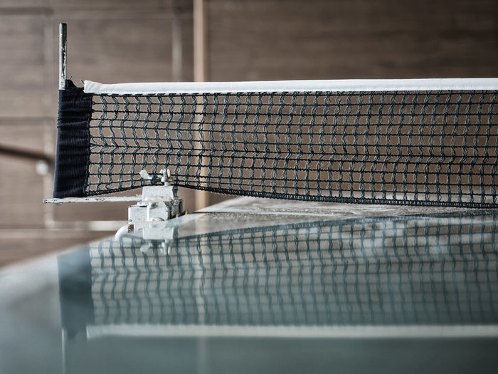 Day Dedication Game Indoors  Match Net No People Table Tennis
