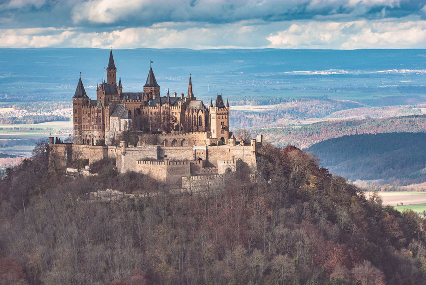 Architecture Autumn Building Exterior Built Structure Burg Hohenzollern Castle Ruin City Cityscape Cloud - Sky Cultures Day Medieval No People Outdoors Sky Southern Germany Swabian Alb Travel Destinations