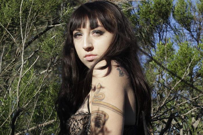 Tessa Showcase March. San Diego Woman Model Tattoo Uniqueness