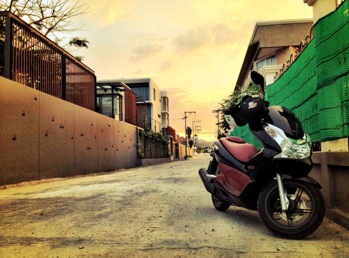 Honda pcx 150 in Thailand