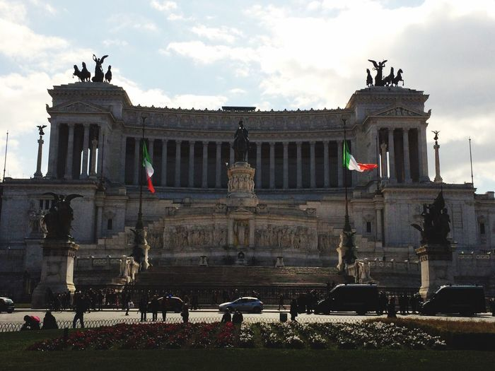 Rome Piazzavenezia Altaredellapatria Città Eterna Italy