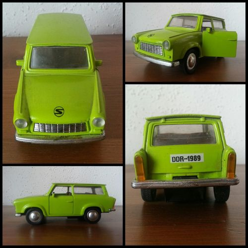 Lieblingsteil - Trabbi Combi Trabant601 Green Color Archival Model Car Portable Information Device No People Technology Close-up Indoors  Day Things I Like 👍