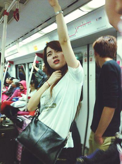 Taking Photos Streetphotography Metro Photo People Lovely Girl Chinese Girl EyeEm China