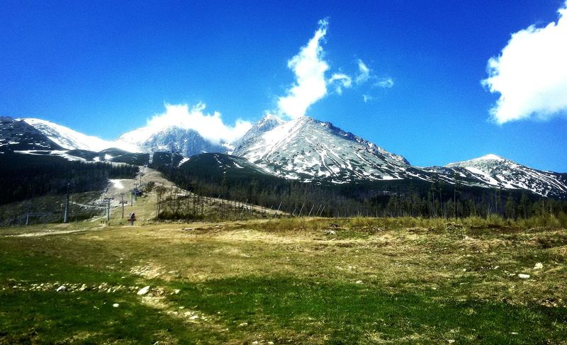 Grass Mountain Day No People Nature Outdoors Sky Beauty In Nature The Great Outdoors - 2017 EyeEm Awards High Tatras Slovakia