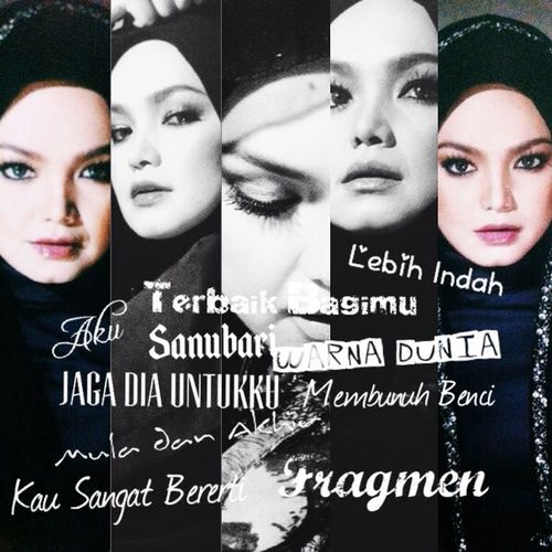 Fragmen By Dato Siti Nurhaliza Already buy it? I suggest you guys to buy this album. Why? Because the songs in this album was very awesome and best!!! You will not regret to get this album. Trust me!!!