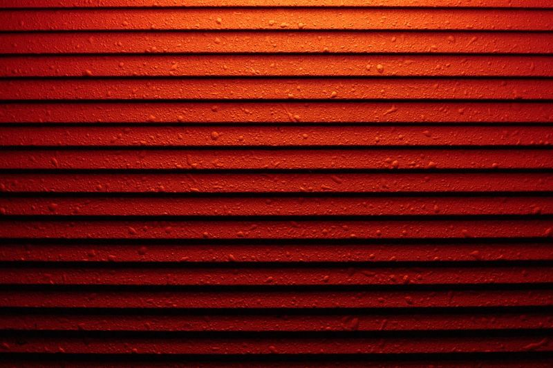 Backgrounds Full Frame Pattern Red No People Textured  Close-up Repetition Abstract Metal In A Row Shutter Wall - Building Feature Safety Vibrant Color Built Structure Architecture Protection Light - Natural Phenomenon Iron Blinds LINE Seamless Pattern Abstract Backgrounds Closed Locked Iron - Metal Corrugated Sheet Metal Alloy My Best Photo