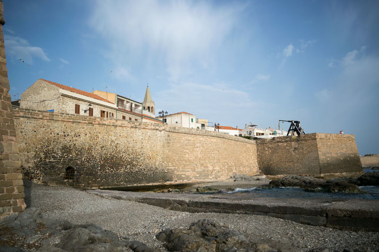 Alghero and its ramparts