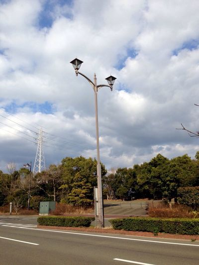 Lamp Lamppost Lamp Lovers Of The World Unite Lighting Equipment Street Light Sky Cloud - Sky Road No People Day Outdoors Tree Japan Photography