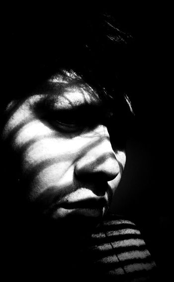 I am blind to your imperfections Blackandwhite Dark Art Noir Blancoynegro Portrait