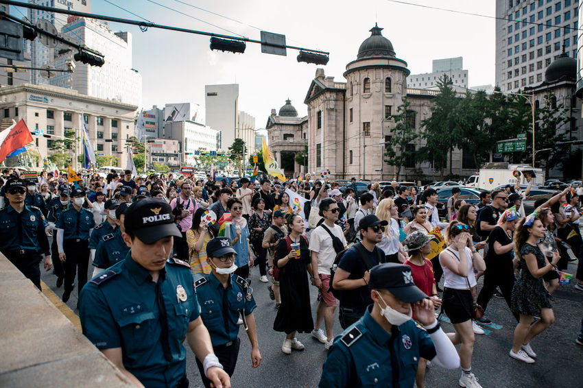 Seoul, South Korea - Jul 14, 2018: Seoul Plaza hosts one of the most colorful and inclusive LGBT Pride event in Asia, Seoul Queer Pride earlier this month. Despite being seen as a conservative society, more than 30,000 Korean and people from around the world participated in Seoul Queer Pride, as a part of 19th Seoul Queer Culture Festival. Summer heat couldn't stop the celebration of love, diversity and equality. Seoul Queer Festival Seoul Queer Pride Seoul Pride Seoul Lgbt Pride Korean Lgbt Lgbt Pride Pride2018 Gay Pride Lgbt Lgbtq Pride Parade LGBT Rainbows Rainbow Flag Loveislove Seoul Queer Culture Festival Love Wins