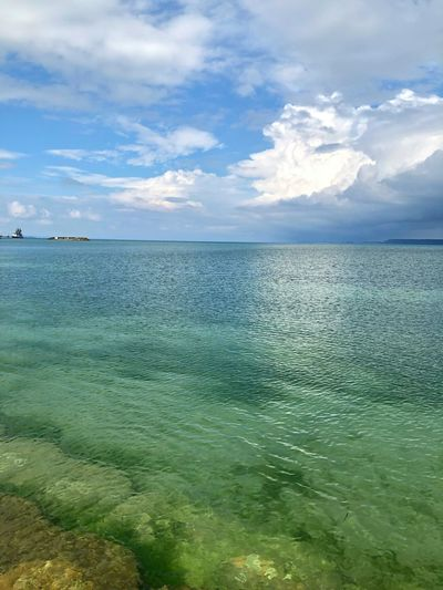 Okinawa Seascape Water Cloud - Sky Sky Sea Beauty In Nature Scenics - Nature Tranquility Nature Beach Waterfront