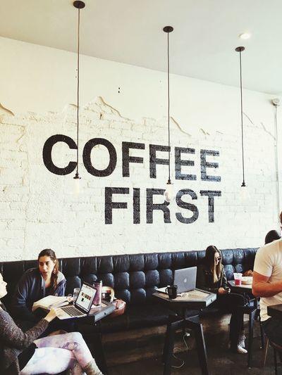 Better buzz coffee first