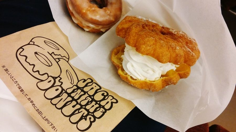 シュークリーム Cream Puff JACK IN THE DONUTS