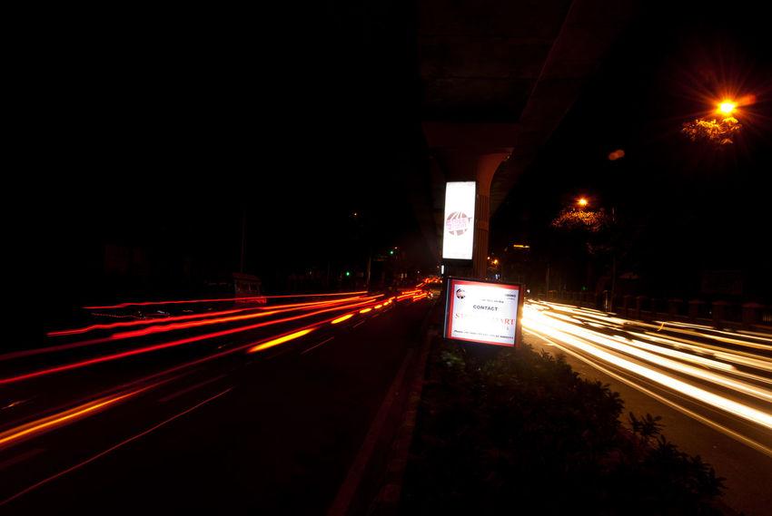 Bangalore Night Photography Blurred Motion Curve Dark Diminishing Perspective Illuminated Incredible India Journey Light Trail Lit Long Exposure Mgroadbangalore Motion Night Outdoors Road Speed Tail Light TakeoverContrast The Way Forward Transportation Vanishing Point