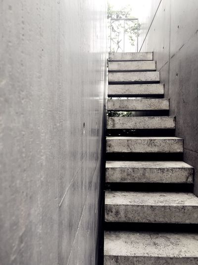 Tadao Ando Church Of Light Concrete Stairs