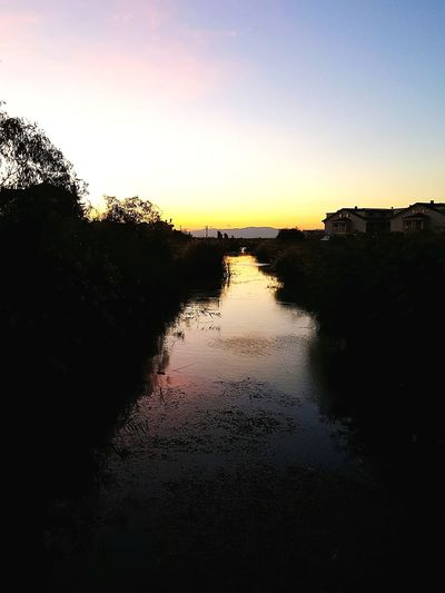 River River Evening River In The Dark River Darkness Darkness darkness and light Sundown Sunset River Sunset Evening Sky Evening Sun Evening Light