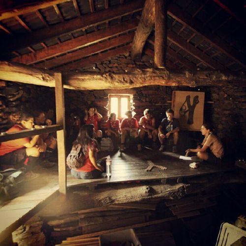 Casa do Silêncio Caminheiros Caminheiros_cne Dravescoutcenter Scenesscoutcenter scouts caminheiros corponacionaldeescutas