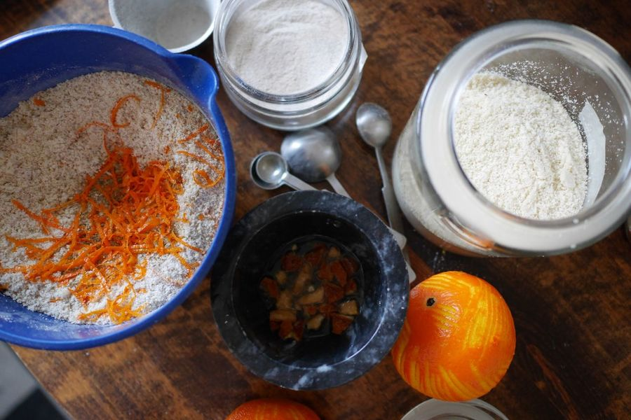 Orange zest Full Frame Bowls Ingredients Baking A Cake Baking Peeling Off Peel Oranges Citrus Fruit Citrus Fruit Fruit Food And Drink Indoors  Food Ingredient Table Bowl High Angle View No People Directly Above Freshness Close-up Plate Day