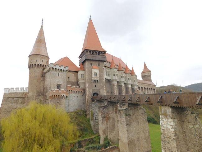 Castle Arhitecture Construction 15 Centuary Hunedoara Romania VajdahunyadCastle Vajdahunyad Vár
