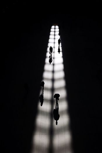 Tunnel of light New York Shadow Sunlight Group Of People Real People Architecture Indoors  People The Street Photographer - 2018 EyeEm Awards The Traveler - 2018 EyeEm Awards