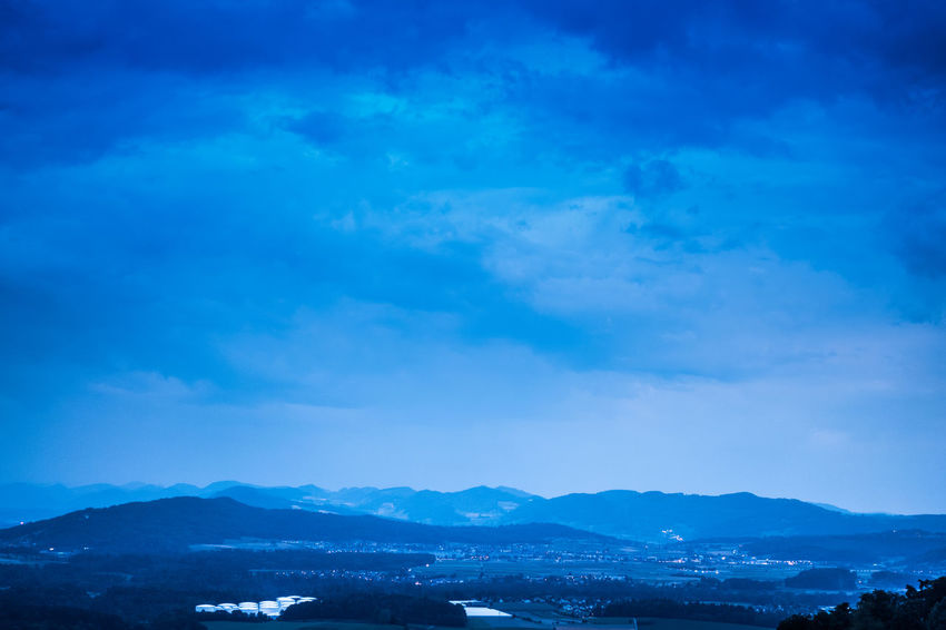 Beauty In Nature Blue Cloud - Sky Cold Temperature Day Environment Idyllic Landscape Mountain Mountain Peak Mountain Range Nature No People Non-urban Scene Outdoors Scenics - Nature Sky Snowcapped Mountain Tranquil Scene Tranquility Winter
