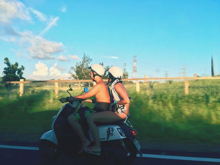 EyeEm Selects Motorcycle Lifestyles Outdoors Transportation Land Vehicle Road