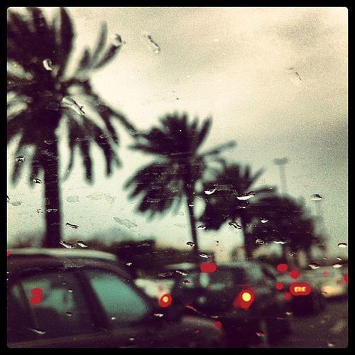 Dubaiweather Windy Gloomy Traffic
