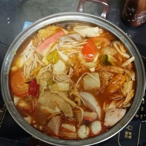 New year tom yam steamboat... Unforgettable Moment DeliciousFood