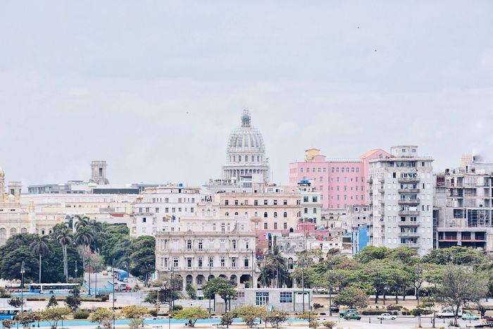 The Island of Revolution. Architecture Built Structure Dome Travel Destinations City Havana Cuba La Habana Cityscape Skyline Landmark Capitol Capitals  City Capital Old Havana Been There.
