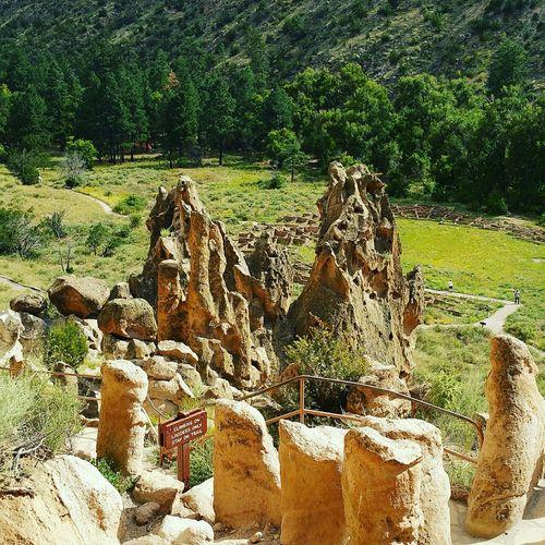 Nationalpark Nativeamerican  Hike Nature Tree Pueblo Los Alamos New Mexico