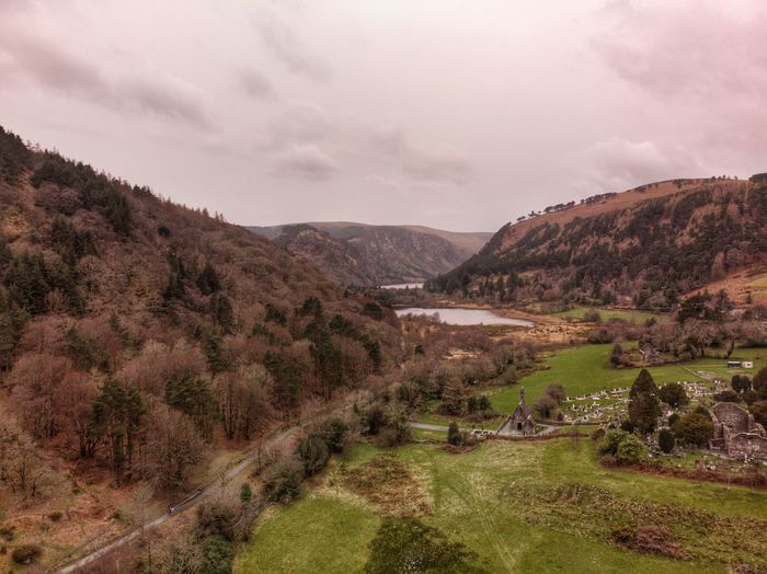 Ireland Drone Photograph DJI X Eyeem DJI Mavic Air Ancient Environment Sky Landscape Scenics - Nature Plant Beauty In Nature Mountain No People Mountain Range Rural Scene Non-urban Scene Agriculture Field Nature Growth Tranquil Scene Cloud - Sky Tranquility Land Tree