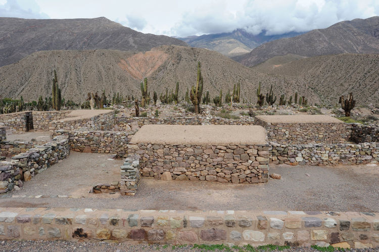 Ancient Civilization Archeological Site Argentina Arid Climate Beauty In Nature Cloud - Sky Day Desert Jujuy Landscape Mountain Mountain Range Nature No People Outdoors Pucara Salt - Mineral Salt Basin Scenics Sky Tilcara Tranquil Scene Tranquility Tree