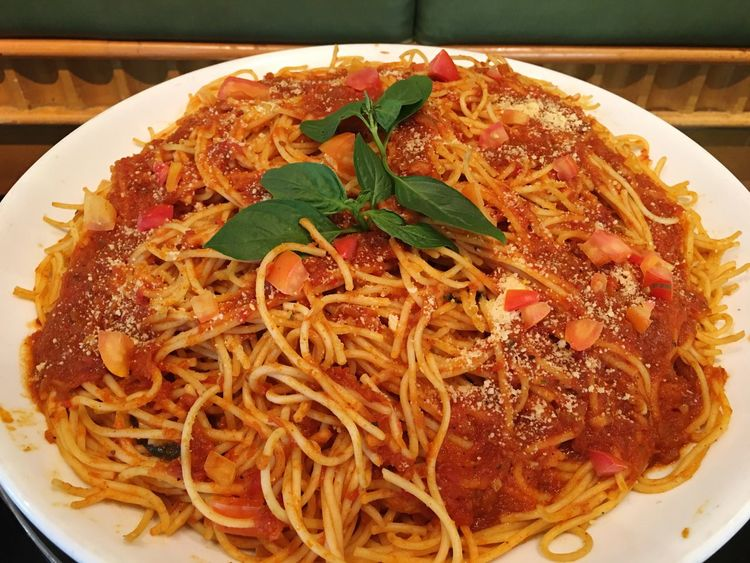Again 🤣 Food And Drink Ready-to-eat Food Serving Size Freshness Indoors  Plate Noodles Close-up Spaghetti Indulgence Italian Food No People Cooked Leaf Homemade Spaketty