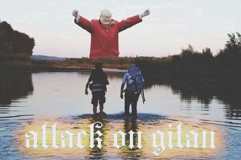Attack On Gitan Gitanie Gitans Camping Letthegitanthink Jeanmarielepen Jeanmarisme Mouvement Artistique