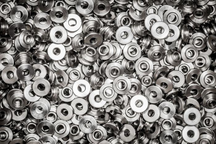 AssoRted Backgrounds Bolt Chrome Closeup Engineering Fasten Grunge Hardware Industrial Industry Machining Metal Industry Metallic Objects Screws Set Steel Supplies Texture Threaded Vintage Waste Management Work Workshop