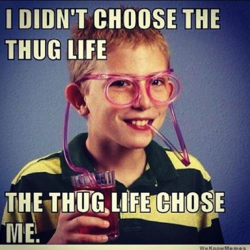 NotGonnaLie i have those straw glasses but in clear.LOLOLOL Thuglife ChoseMe
