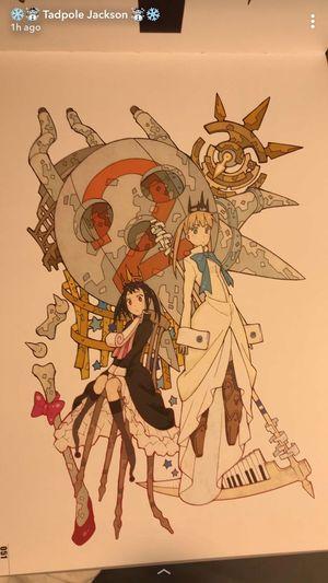 Souleater Souleaternot Soul Eater Not Soul Eater  Art Manga Anime